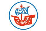 Das Logo vom F.C. Hansa Rostock