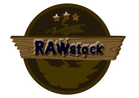 Auf diesem Bild sieht man das Logo von RAWstock