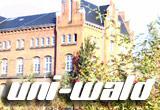 Auf diesem Bild sieht man ein Gebäude der Uni Rostock.