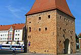 Auf diesem Bild sieht man das Steintor in Rostock.