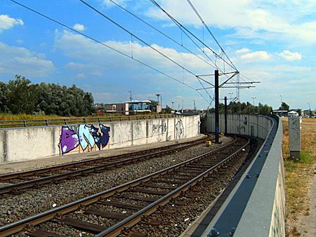 Auf diesem Bild sieht man den Straßenbahntunnel am Hauptbahnhof.