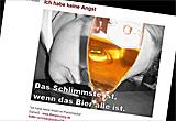 Auf diesem Bild sieht man ein Screenshot von wirhabenkeineangst.de.